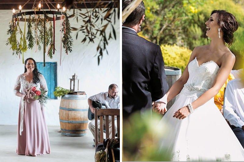 Two beautiful weddings at Fynbos Estate