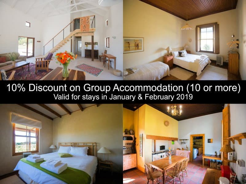 Accommodation Special for group bookings at Fynbos Guest Farm