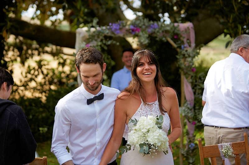 Country wedding at Fynbos Estate venue
