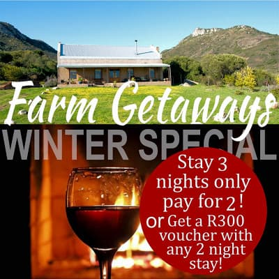 Winter Special Guest Farm Accommodation