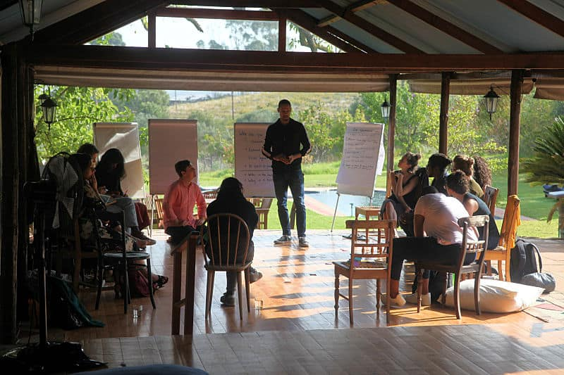 The Engine Room workshop at Fynbos Estate