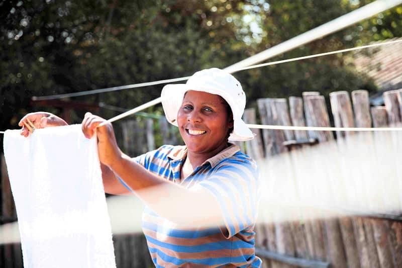 Farm work at Fynbos Estate in the Swartland