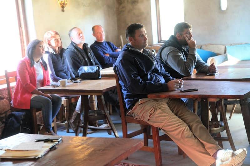 Vinpro Winetech Workshop in the Swartland at Fynbos Estate