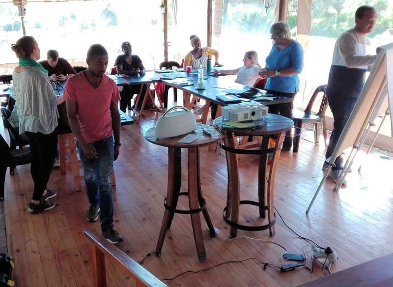 After School Game Changer workshop at Fynbos Estate