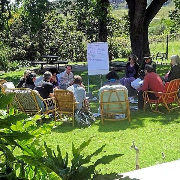 Executive Corporate Workshop Venue on Wine Estate near Cape Town