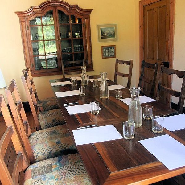 Corporate meetings and workshop venues on wine estate near Cape Town