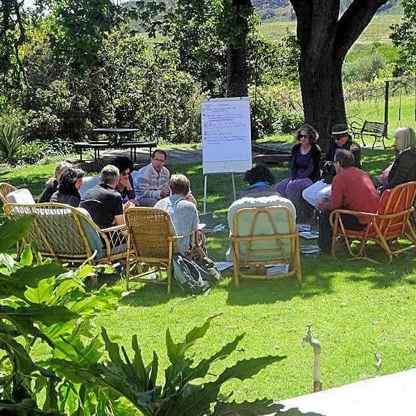 Executive Corporate Workshop Venue on Wine Estate near Cape Town