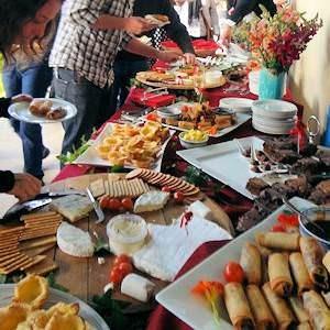 Swartland Guest Farm Wedding Receptions Food at Fynbos Estate Country Wedding Venues